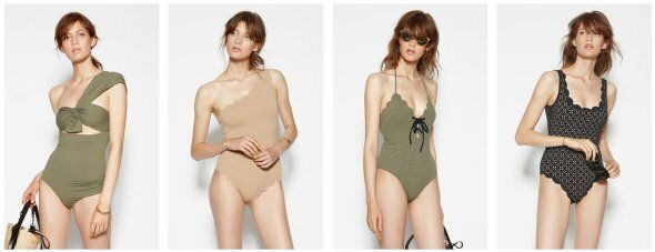 A selection of the Marysia Swim current