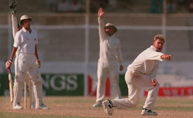 This particular appeal was unsuccessful, but Warney would eventually get his man (who is Pakistan all-rounder...