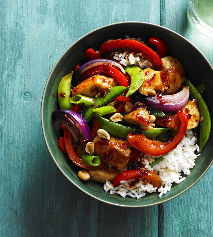 Use chilli for a fiery stir fry.