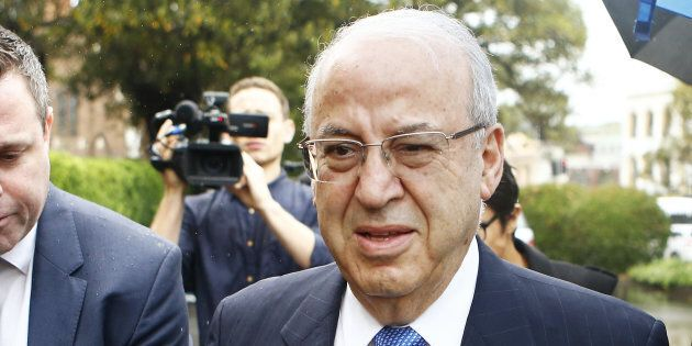 Eddie Obeid was sentenced to a minimum of three years in