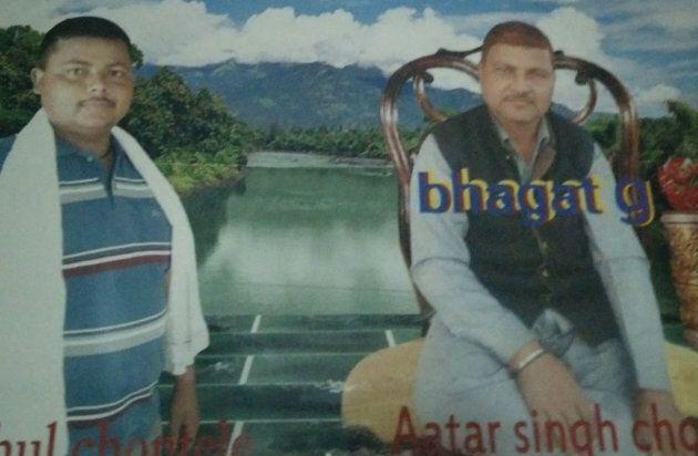 Rahul (left) and Atar