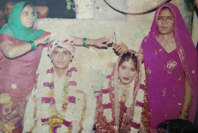 Sumit and Preeti at their