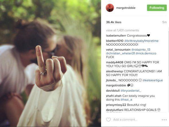 Margot Robbie Seems To Confirm Wedding, But We Still Don't
