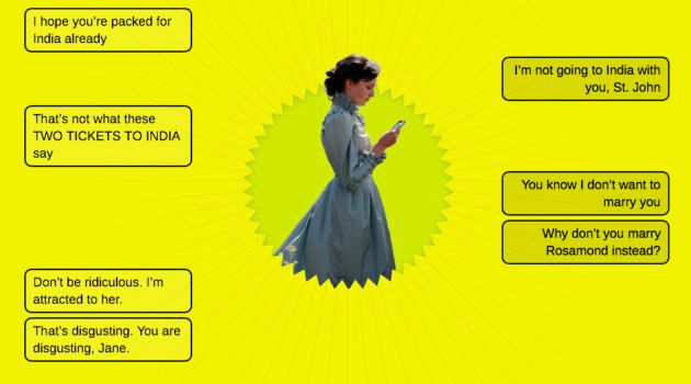 What Famous Literary Characters Might Text If They Had Mobile