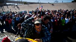 U.S. Border Patrol Launches Tear Gas At Migrants Over Attempt To Breach