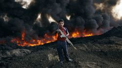 The Burning Oil Fields Of