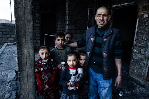 When ISIS (Daesh) set fire to the oil well by his home it caused catastrophic damage. Salid and his family...
