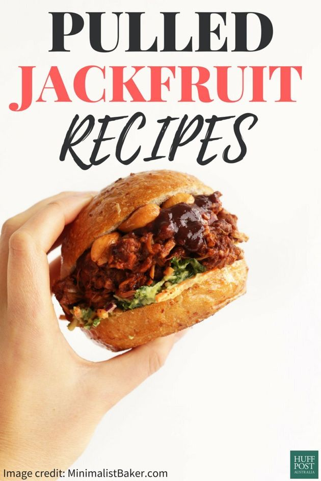 So, You Can Make Pulled 'Pork' From Jackfruit, And It's
