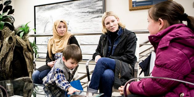 Cate Blanchett: 'I Have Seen Firsthand The Determination Refugees Have To Protect Their