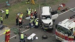 Five People Injured In Head-On Crash In Sydney's