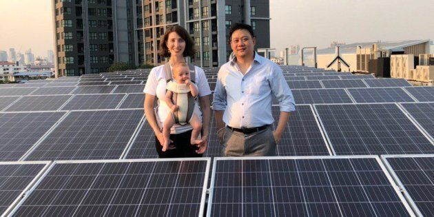 While her company is disrupting the energy market, Green is ready to shake things up in the male-dominated...