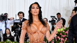 Kim Kardashian's Met Gala Dress Was So Tight She Couldn't