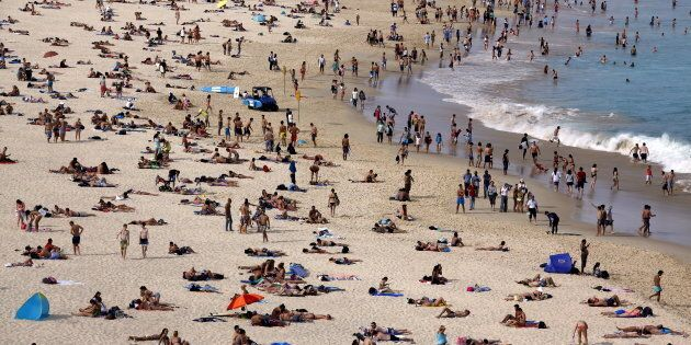 Many parts of Australia are set to swelter through a very hot Christmas