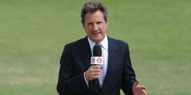 Channel Nine commentator Mark Nicholas was taken from the MCG Boxing Day Test to