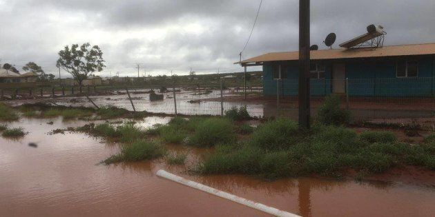 Heavy Rain And Flash Flooding Closes Uluru National