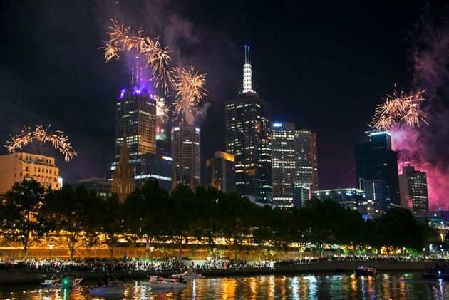 In Melbourne, if you have a view of the city skyline you will be able to view the New Year's Eve fireworks...