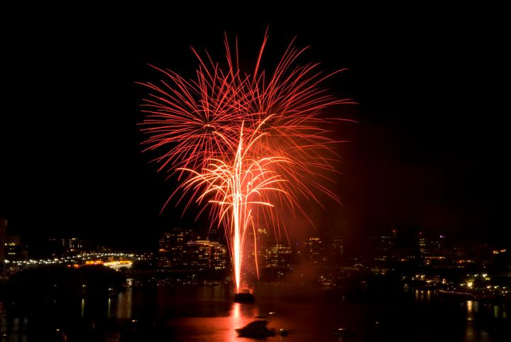 The Brisbane River will light up again this New Year's Eve.