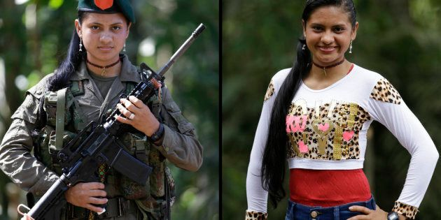 Yiceth 18 spent four years with the FARC Now she wants to finish high school and go on to study nursing after demobilizing as part of the peace deal Aug 13