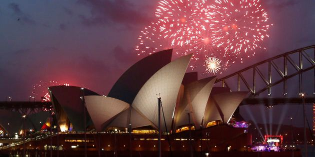 Fireworks will light up the Sydney Opera House tonight as millions ring in the new year in Sydney.