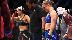 Ronda Rousey's UFC Return Ends Inside A