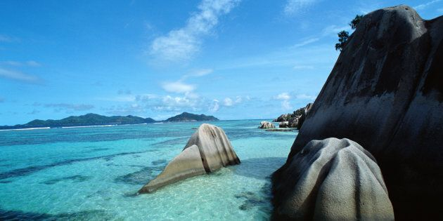 Seychelles, La Digue island, Anse Source d'Argent
