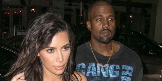 MIAMI BEACH, FL - SEPTEMBER 15: Kim Kardashian and Kanye West are seen arriving to Prime 112 steakhouse on September 15, 2016 in Miami Beach, Florida. (Photo by John Parra/GC Images)