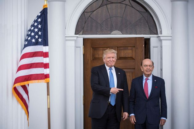 Trump's nominee for Commerce Secretary, investor Wilbur Ross, is reportedly worth $2.9