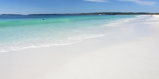 Hyams Beach, on the south coast of NSW, is said to have the whitest sand in the