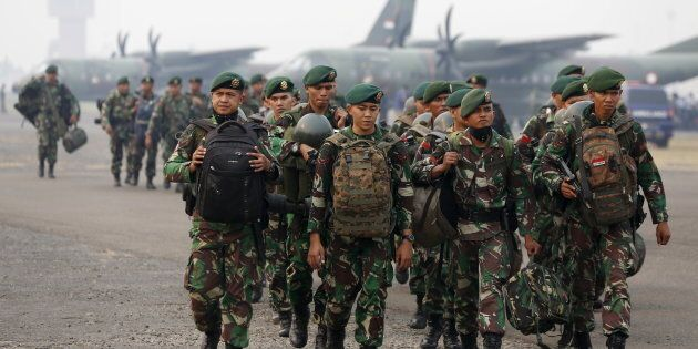 Cooperation between Indonesian and Australian military has been