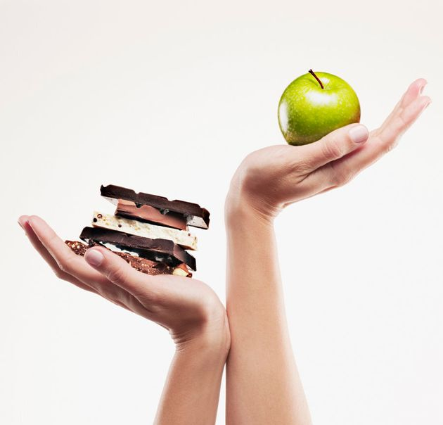 Day one snack: apple. Day seven snack: a block of
