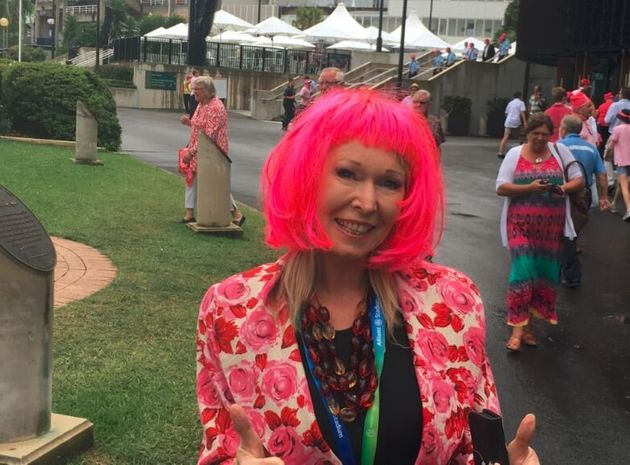 Pink Coffee (Ugh!) And 13 Other Pinktacular SCG Photos On McGrath