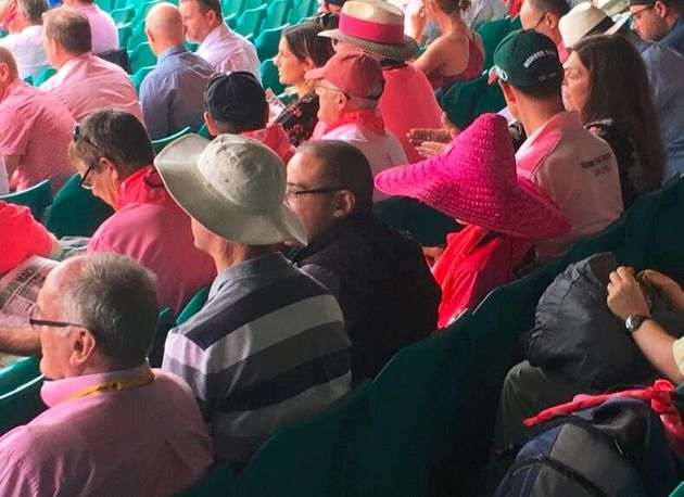 How come nobody bought us a pink sombrero for