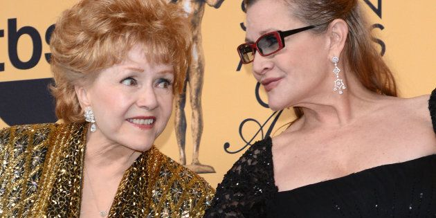 Carrie Fisher and her mother, Debbie Reynolds, both died in