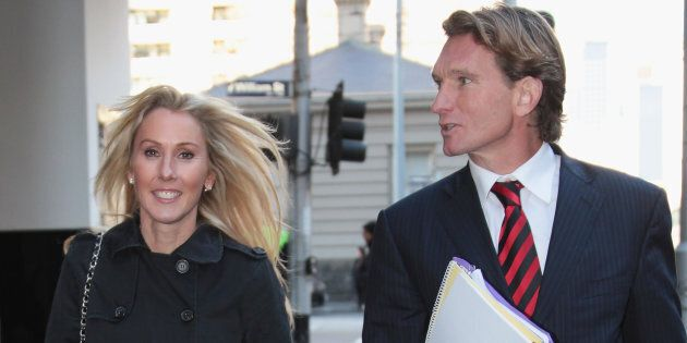 Tania Hird has called for privacy following James Hird's health scare on