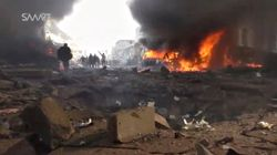 Fuel Truck Blast Kills Dozens In North Syrian Border