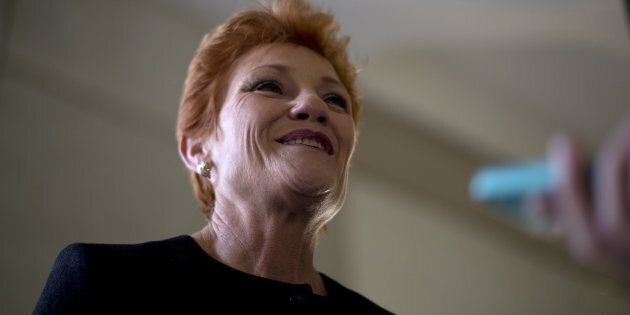 Pauline Hanson wants medical cannabis to hurry up.