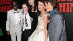 The 'Stranger Things' Kids Took Selfies With ALL The Stars At The Golden