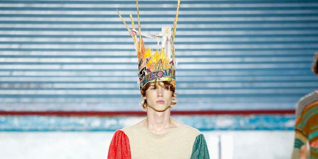 The 22 Most Outrageous Looks From London Men S Fashion Week Huffpost Australia Style