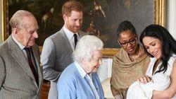 영국 왕실이 공개한 이 '로열 베이비' 사진이 역사적인