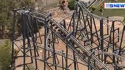 'Dozens' Trapped On Roller Coaster At Movie World On Gold