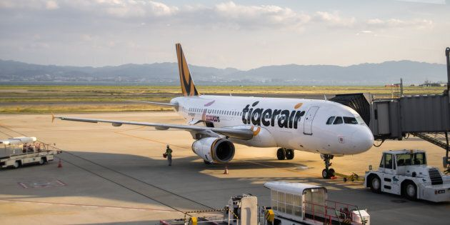 Tigerair flights were cancelled to and from Bali