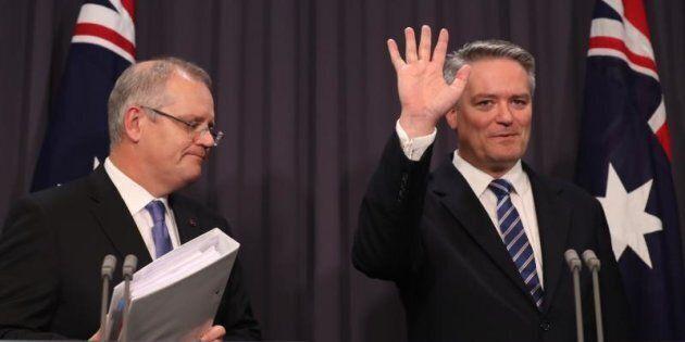 Graphs break down the work of Treasurer Scott Morrison and Finance Minister Mathias