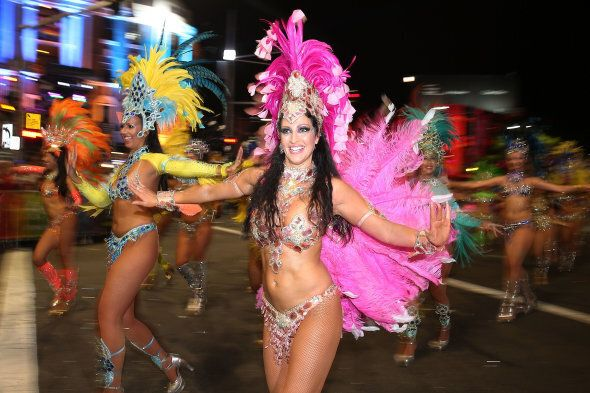 Sydney's Mardis Gras celebrations are one of the biggest events on Oxford Street every