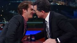 Andrew Garfield Explains Kiss With Ryan Reynolds By Smooching