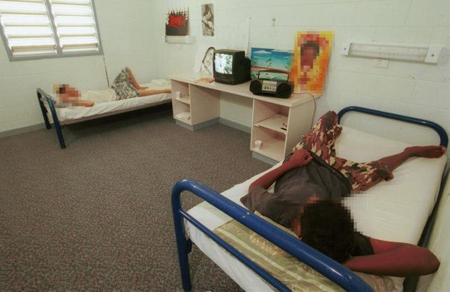 Boys at Don Dale detention centre in