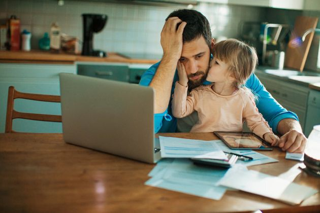The study is an indication that a father's stress levels may impact his