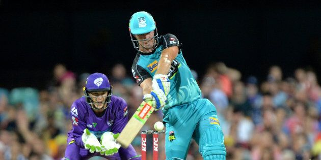 Chrs Lynn hit 26 sixes in the Big Bash this