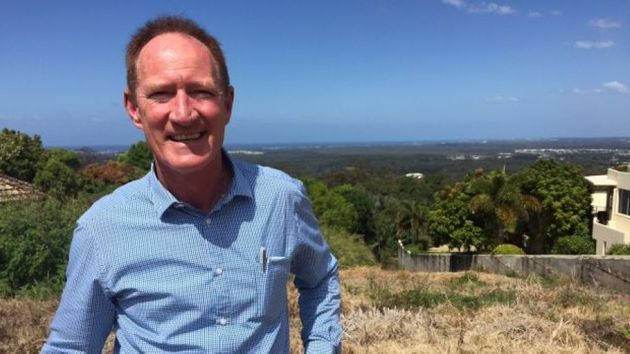 Buderim MP Steve Dickson has jumped ship to One