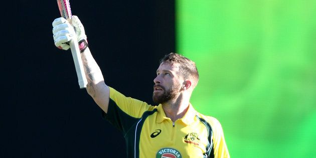 The Aussie wicket keeper scored his maiden century in the first ODI match against Pakistan on