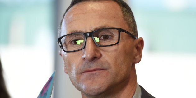 Richard Di Natale wants the federal government to establish a national anti-corruption